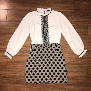 iris White blouse NWOT